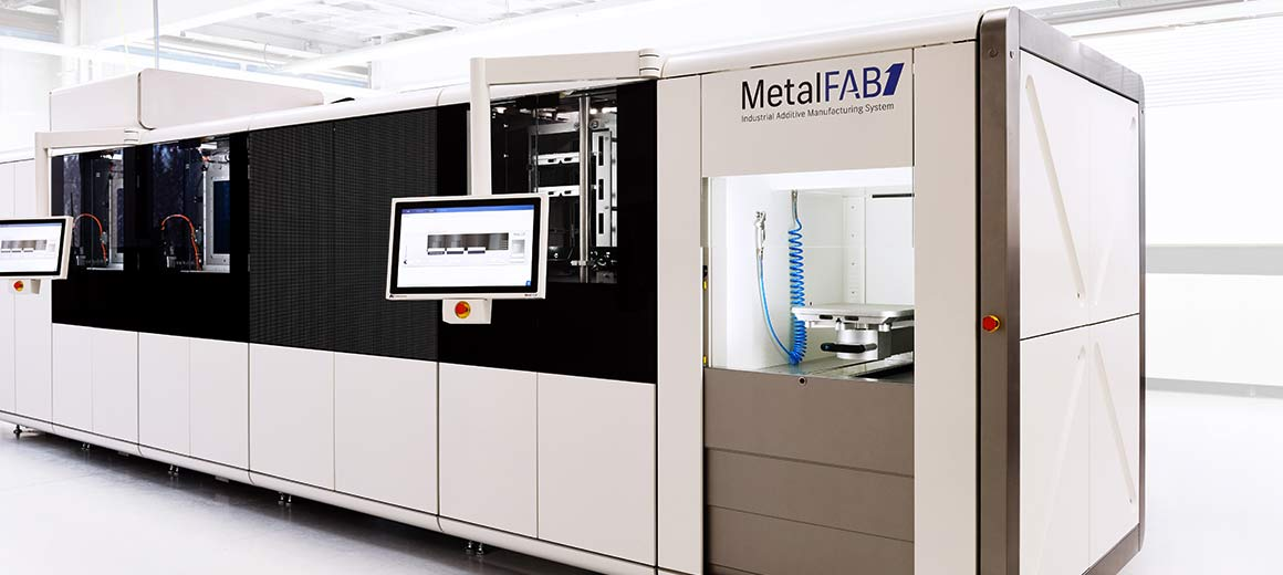 The Beckhoff control platform ensures optimal results in high-end additive manufacturing applications. © Additive Industries