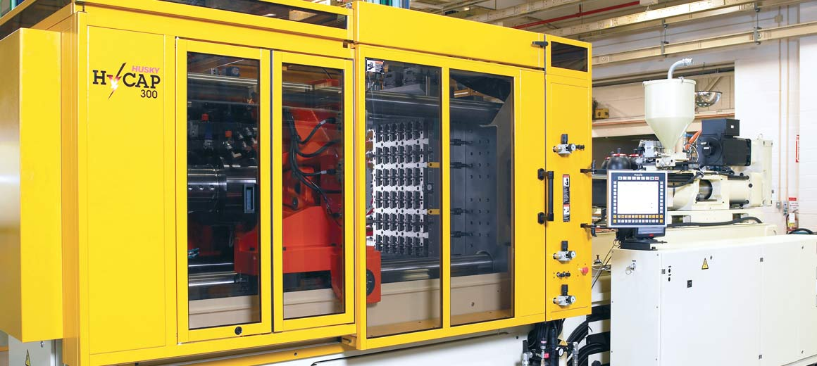 Canadian plastics industry leader, Husky Injection Molding Systems perfectly balances efficiency, quality and costs.