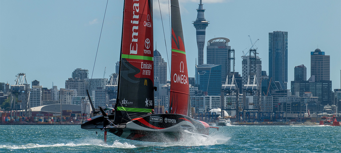 Emirates Team New Zealand © Emirates Team New Zealand