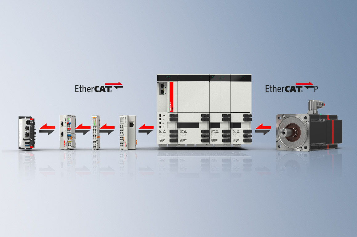 Due to its high speed and bandwidth, EtherCAT is ideally suited for mastering the complex processes in sheet metal working machines and for the linking of production plants.
