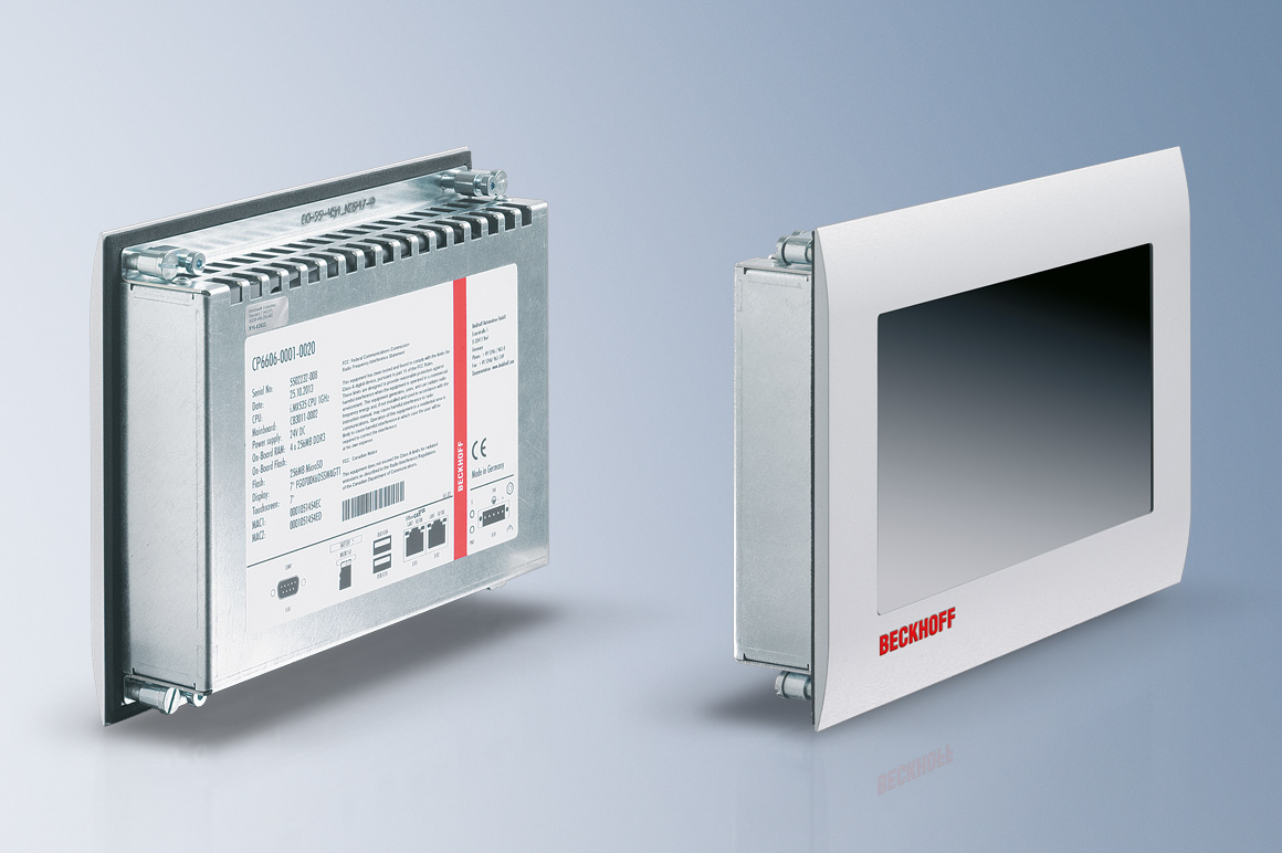 The CP6606 Panel PC enables the control and visualization of all building functions.