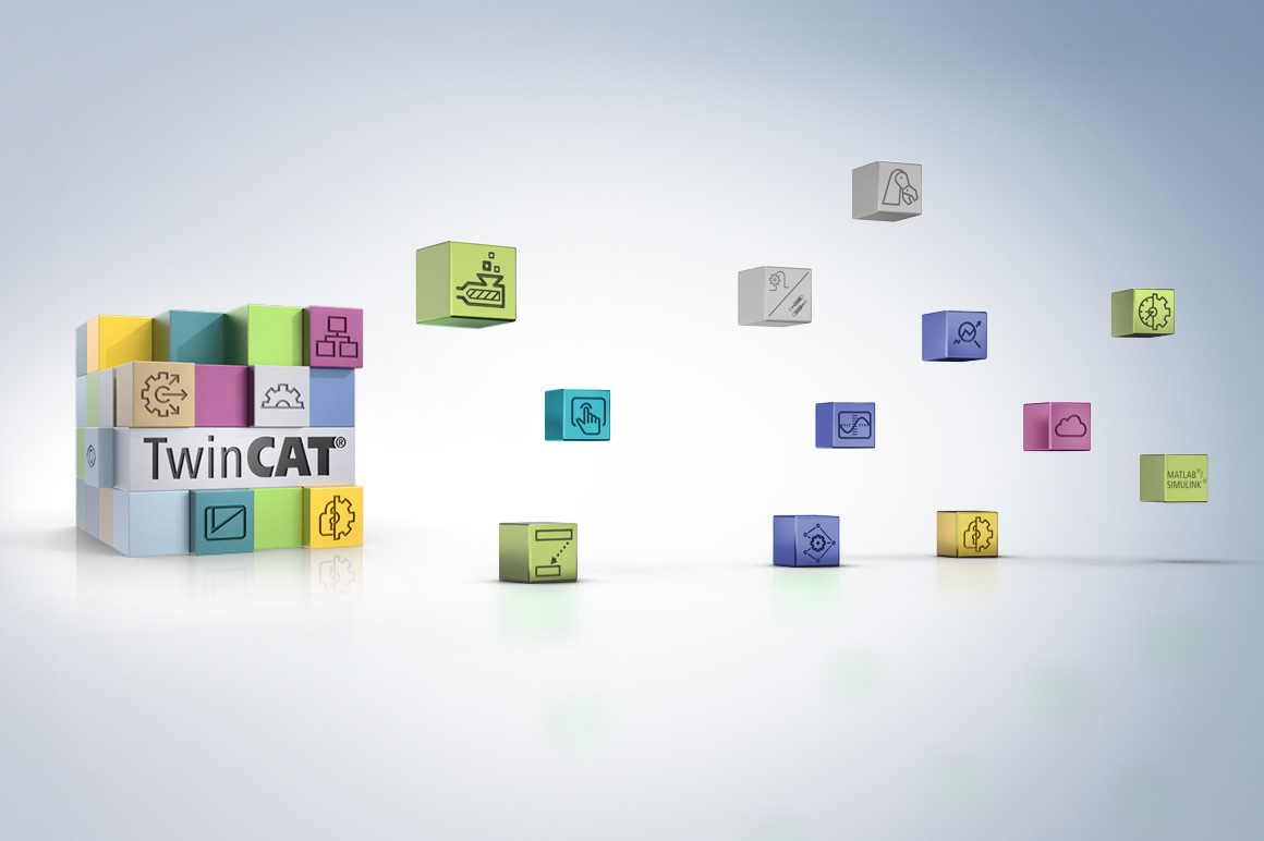 TwinCAT integrates all engineering and runtime processes on a central software platform.