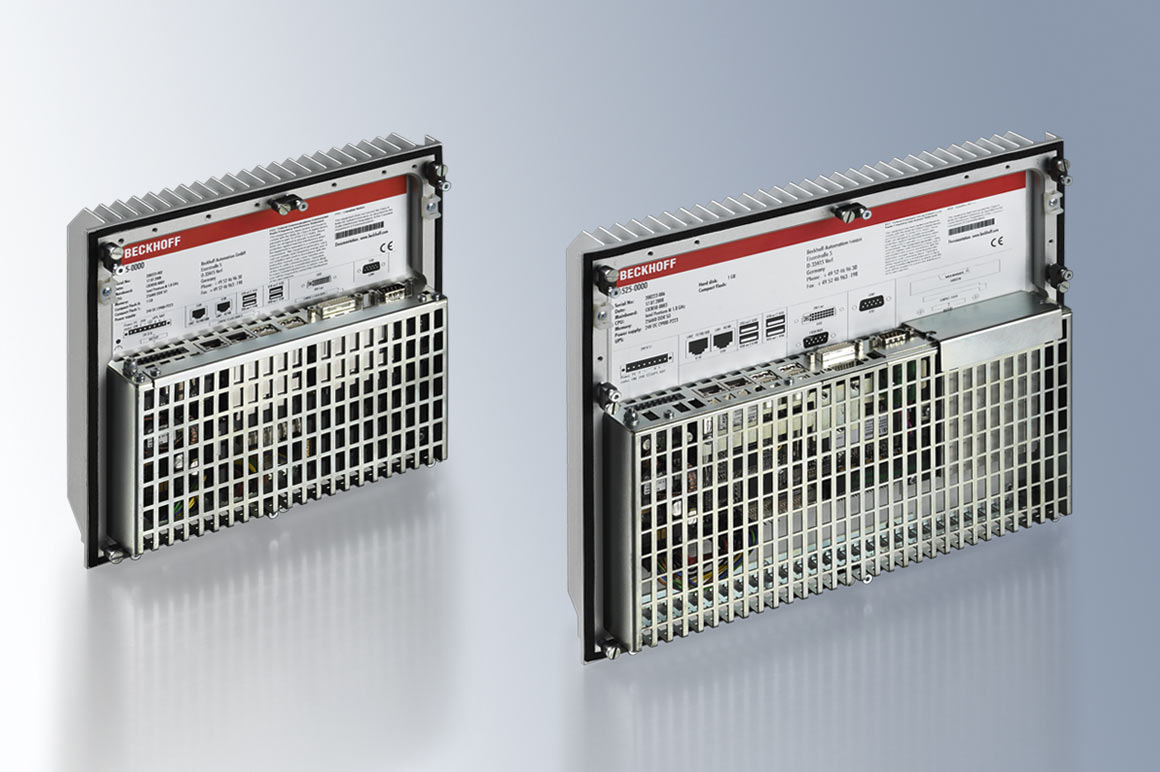 The fanless built-in Industrial PCs from the C65xx series are ideally suited for controlling a wind turbine or wind farm.