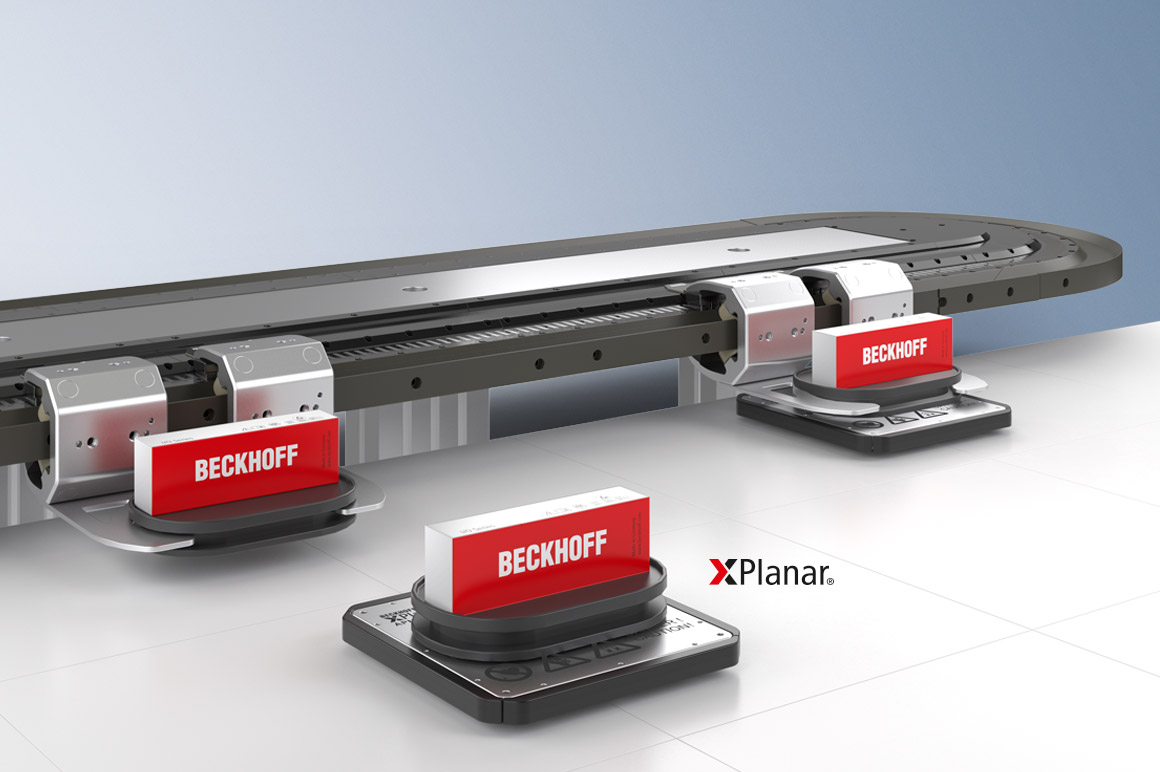 XTS and XPlanar enable intelligent product transport.