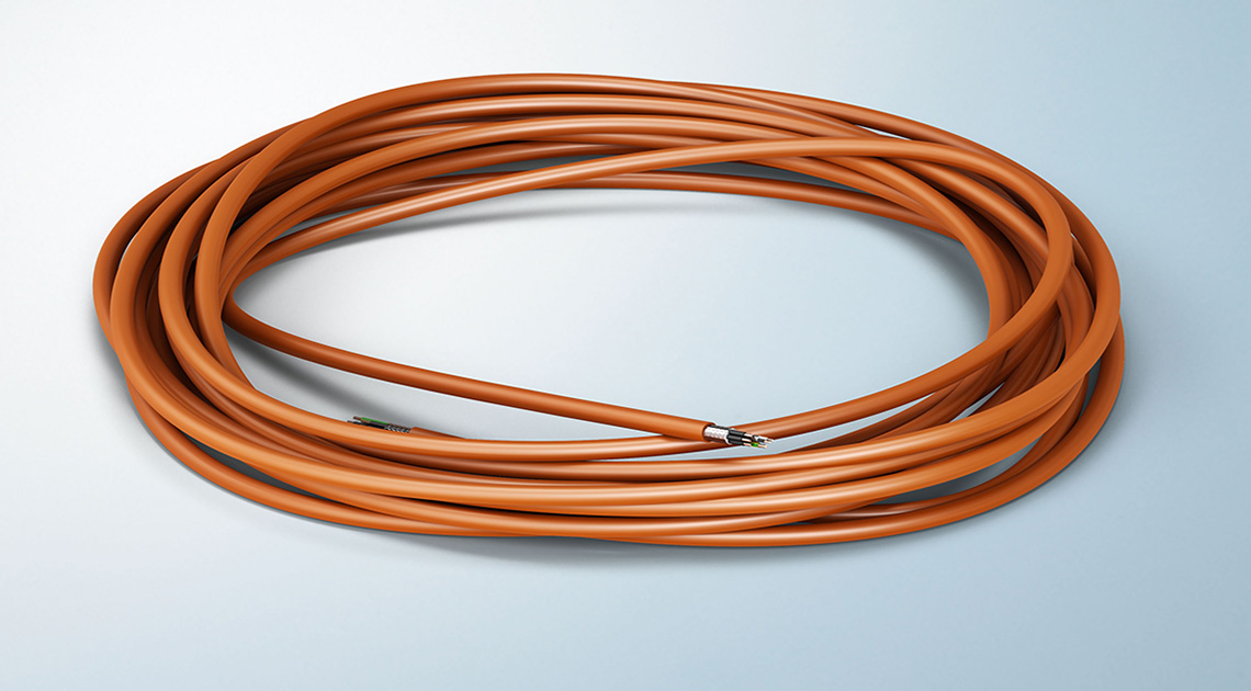 Cable available as pre-cut cable rings in 5, 10, 25, 50 or 100 meters or sold by the meter from 1 m length